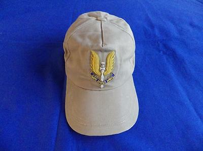 Special Air Service ( Sas ) Baseball Cap With A Bullion Wire Badge