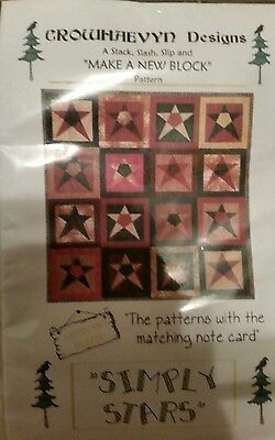 "Patchwork Quilting Kit Simply Stars 48"" x 48"""