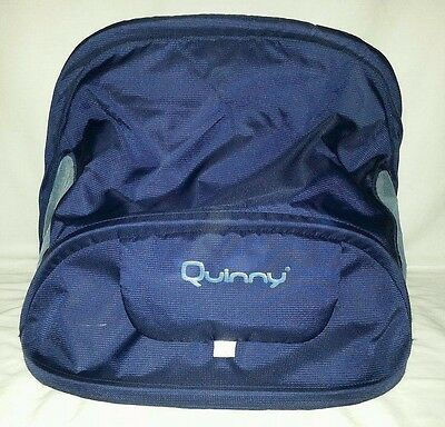 Quinny Buzz Spare Replacement Buggy Pushchair Hood Blue Free Post