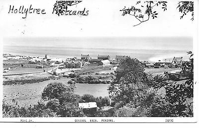 View of Pendine with beach & cars Carmarthenshire  RP