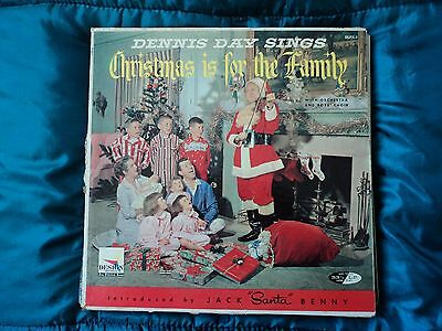 Dennis Day Sings Christmas is for the family ~ US pressing ~ VG / VG