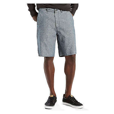 New Men Levi's Flat-Front Casual Straight Chino Shorts Blue Size 33-40 MSRP $50
