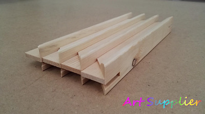 Canvas Stretcher Bars, Canvas Frames, Scots Pine Wood 38mm, 12inch, Pack of 30