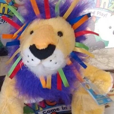 Webkinz Ribbon Lion  with Unused Code and Tag
