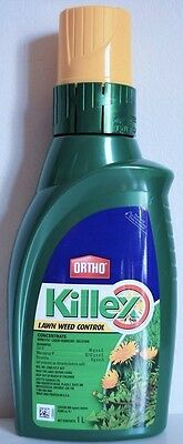 Ortho Killex Lawn Weed Control Concentrate 1L Liquid Herbicide Killer Solution