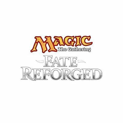 MTG Fate Reforged Complete Set of 4X Common w/ Land Cards ( 280 Cards) Mint New