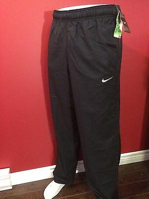 NIKE Men's Dri-fit Drawstring ankle Black Athletic Pants - Size Medium - NWT $55