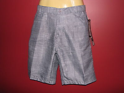 Burnside Boy's Gray Walkshort Inspired Boardshort - Size XL (18) - NWT