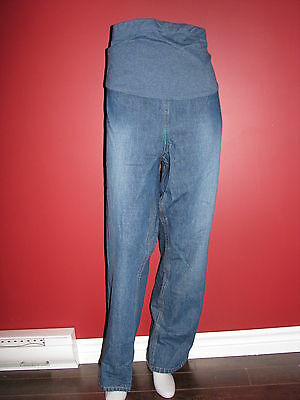 MATERNITY ANNOUNCEMENTS Women's Belly Panel Maternity Jeans - Size XL (16-18)NWT