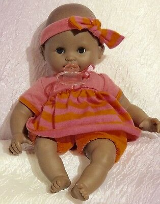 """14"""" Corolle Baby Doll African American Beanie Body"""