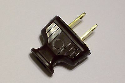 Brown Early Electric Style Bakelite Plug Lamp Part New 31372K