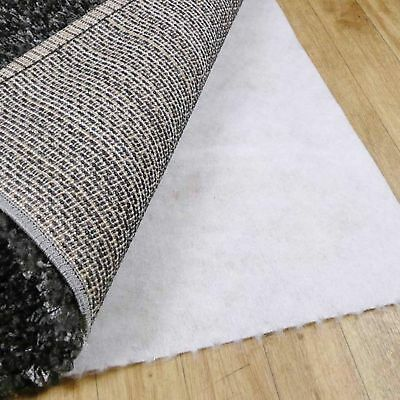 TOTAL GRIP - Woven Non-Slip Rug Underlay - 8 Sizes Available **FOR CARPET FLOORS