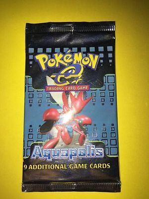 POKEMON - Aquapolis TCG BOOSTER PACK SEALED - ENG all artwork avaialable 9 cards