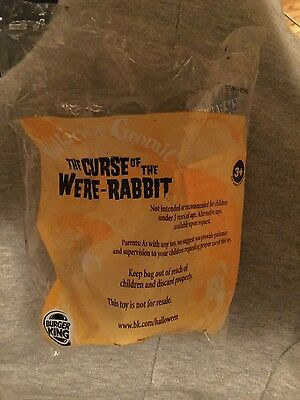 burger king brand new the curse of the were-rabbit Wallace and gromit