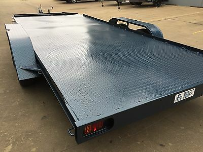 Car Trailer Tandem axle 16X6.6FT 2T USE4 RACE FORD HOLDEN NO RAMPS OR PAINT INCL