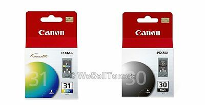 Canon CL-31 PG-30 Black & Tri-Color Ink Cartridge Combo iP1800 Genuine New