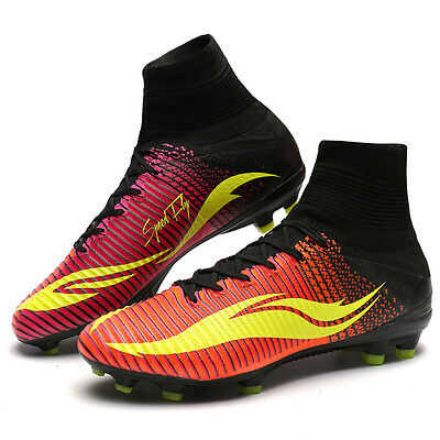 New Design Men Superfly Soccer Shoes FG High Ankle Kids Football Boots Cleats