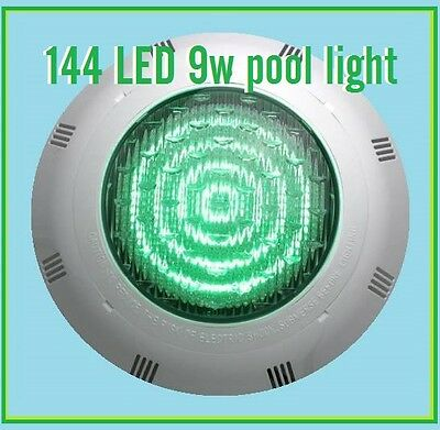 New ABS 144 9w  LED RGB 7Colors 12V Underwater Swimming Pool + Remote Control