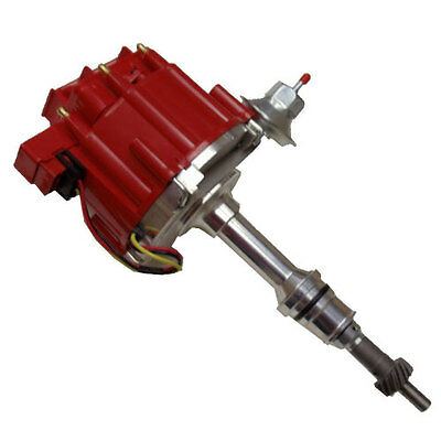 ford 289 302 331 347 billet performance racing distributor ready sbf ford 260 289 302 v8 coil hei distributor 50000 50k volt red cap