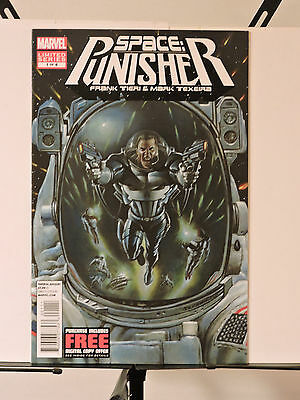 Space: Punisher #1-4 (September 2012, Marvel) full set