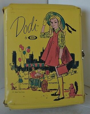 Vintage Ideal Dodi Doll Case Carrying From Tammy Family
