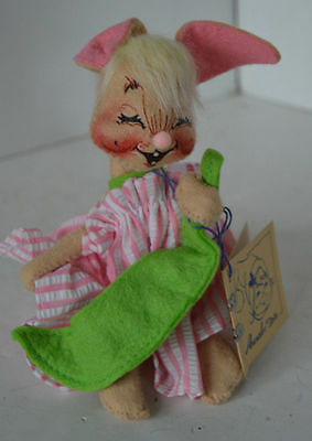 Vintage Annalee Doll Peas Doll Soft Sculpture With Tags 1993