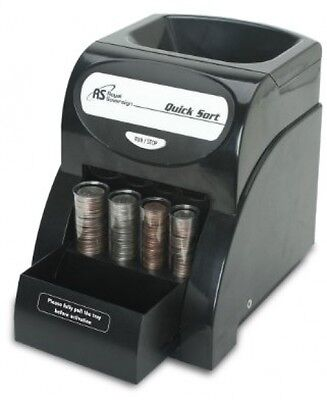 Digital Coin Sorter Money Counter Machine Change Sort Count Wrapper Business**