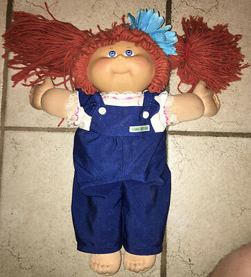 Cabbage Patch Kids Doll Red Head Xavier Roberts 25th Anniversary Edition 2008