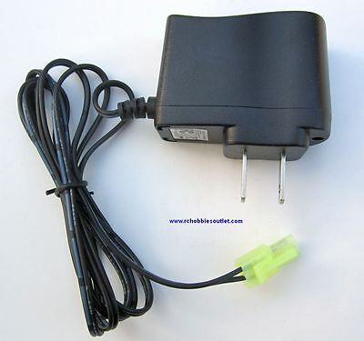 7.2 VOLT NIMH RC Battery Charger  500mA Small Tamaya Connector for 1/16 Scale