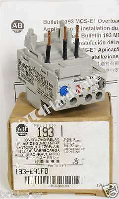 New Allen Bradley 193-EA1FB /A Solid State Overload Relay 3.7-12A, Read!