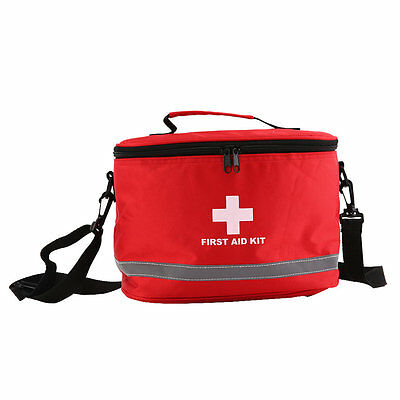 Sports Camping Home Medical Emergency Survival First Aid Kit Bag Outdoors AO