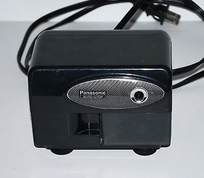 Panasonic Auto-Stop Electric Pencil Sharpener KP-310 Black-- works