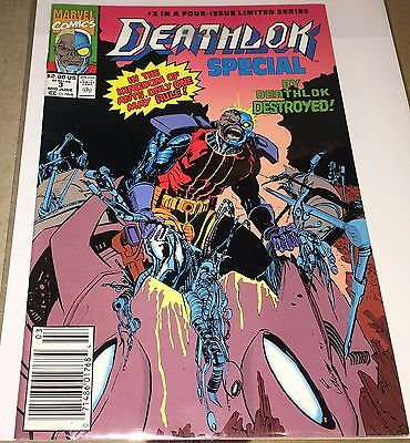 Deathlok Special #3 (Mid June 1991 Marvel) VF