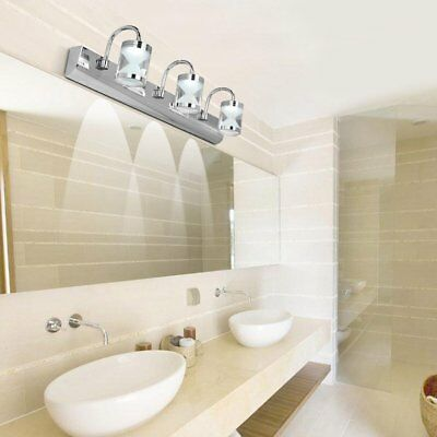 2 bulb bathroom vanity light fixture wall mount with plug in outlet rh picclick com Vanity Light with Plug Outlet Bathroom Fixture with Electrical Outlet