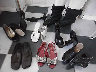 HUGE BULK LOT~Womens~Gorgeous!~SHOES,Heels,BOOTS,SandaLS~from Sz-8 1/2 - 9