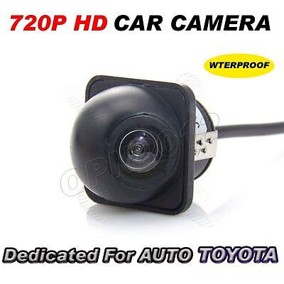 CCD Mini Camera Kit Car Reverse Parking Rearview HD Full Night Vision For Toyota