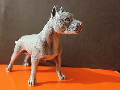 American Staffordshire Terrier figurine dog marble chips Souvenir from Russia