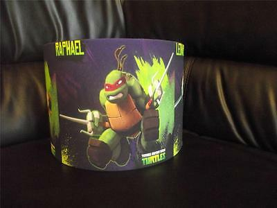 "Teenage Mutant Ninja Turtles Tnmt  10"" Drum Ceiling Lampshade Lightshade"