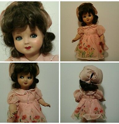 Bambola Antica 1940 vintage Doll