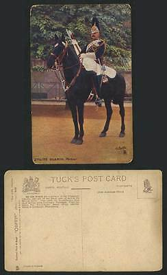 British Army, 2nd Life Guards, Farrier, Horse Rider, Old Tuck's Oilette Postcard