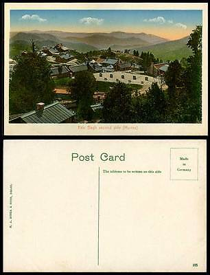 Pakistan Old Color Postcard Kala Bagh 2nd Second Side Murree Hill Panorama India