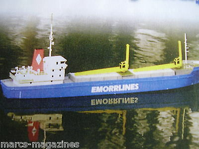 A Model Boat Plan Emily May Merchant Vessel Emorrlines  On A3