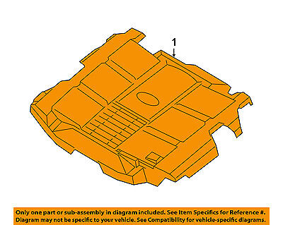 SUBARU OEM 10-16 Outback Engine Appearance Cover-Engine Cover 14025AA35B