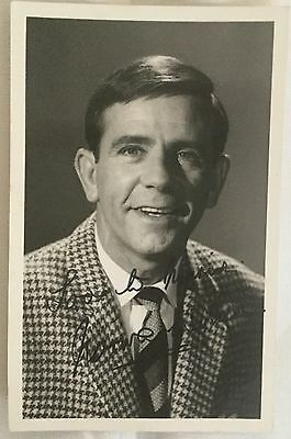 NORMAN WISDOM Genuine Original Autographed Photograph. COA.
