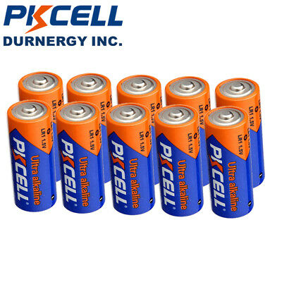 10 X LR1 Size N Alkaline Battery E90 MN9100 910A 1.5V For Bluetooth Headsets