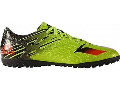NEW Adidas Messi 15.4 Junior Football Trainers Green Soccer Shoes