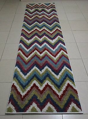 New Modern Heatset Quality Hallway Floor Runner Rug 80X300Cm