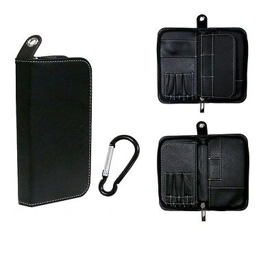 Target Match Wallet and Accessories - Multi Compartment Dart Case - Black