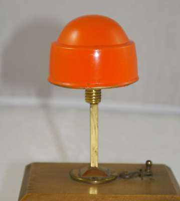 Art Deco Lampe Puppenstube Miniatur 20er Jahre Messing Doll room Lamp