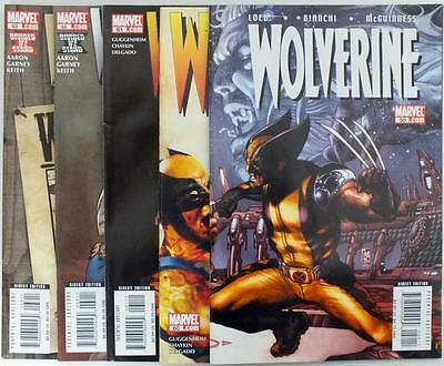 5 issues Wolverine - Issue # 50,60,61,62,63 - Volume 3 - Marvel - NM/VF (2831)